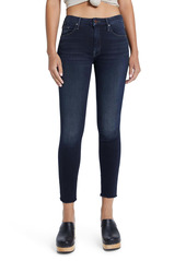 Mother Denim MOTHER Looker High Waist Ankle Skinny Jeans (Coffee Tea or Me)