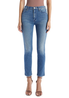 Mother Denim MOTHER The Dazzler Ankle Straight Leg Jeans (On the Edge)