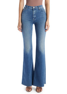 Mother Denim MOTHER The Doozy High Waist Distressed Wide Leg Jeans (I Wet My Plants)