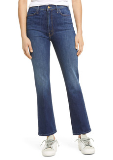 Mother Denim MOTHER The Hustler High Waist Ankle Bootcut Jeans (Perfectly You)