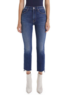 Mother Denim MOTHER The Insider Crop Step Fray Jeans (Shake Well)