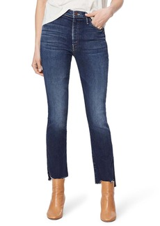 Mother Denim MOTHER The Insider High Waist Crop Step Fray Jeans (Sweet & Sassy)
