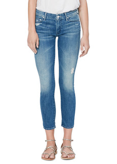 Mother Denim MOTHER The Looker Crop Skinny Jeans (Graffiti Girl)