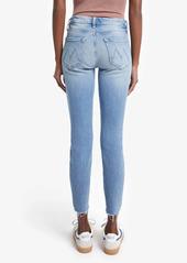 Mother Denim MOTHER The Looker Fray Hem Ankle Skinny Jeans