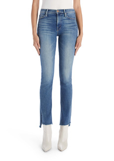 Mother Denim MOTHER The Runaway High Waist Frayed Hem Jeans (Leaps & Bounds)