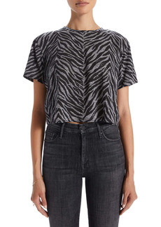 Mother Denim MOTHER The Slouch Crop T-Shirt