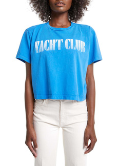 Mother Denim MOTHER The Slouch Yacht Club Graphic Tee