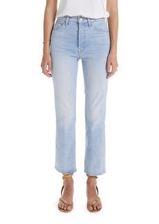 Mother Denim MOTHER The Tripper Crop Bootcut Jeans