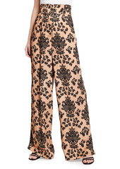 Mother Of Pearl Printed Wide Leg Trousers