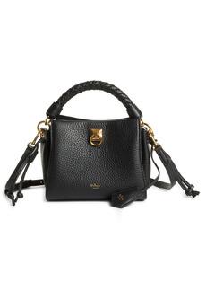 Mulberry Mini Iris Leather Top Handle Bag