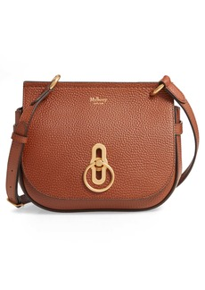 Mulberry Small Amberley Leather Crossbody Saddle Bag