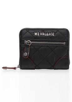 Women's Mz Wallace Mini Crosby Wallet - Black