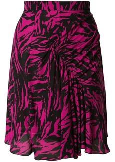 Nº21 animal print mini skirt