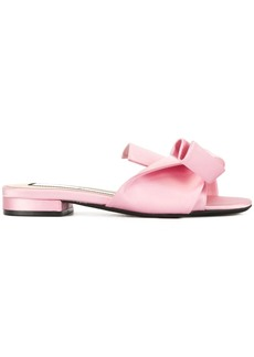 Nº21 bow open-toe sandals