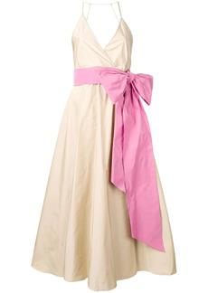 Nº21 flared bow dress