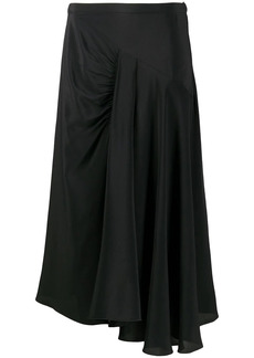 Nº21 high-waisted draped skirt