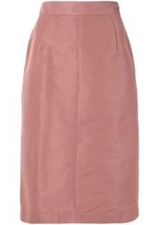 Nº21 high-waisted pencil skirt