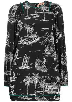 Nº21 Island print dress