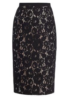 Nº21 Lace Pencil Skirt