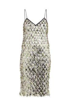 Nº21 No. 21 Jersey-lined sequin dress