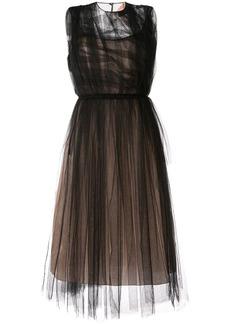 Nº21 ruffled tulle dress