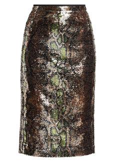 Nº21 Sequin Pencil Skirt