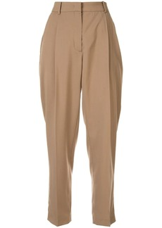 Nº21 tailored tapered-leg trousers