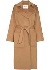 Nanushka Alamo belted midi coat