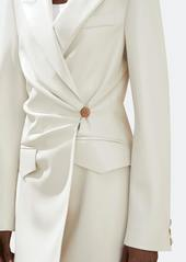 Nanushka Blair Wrap Front Vegan Leather Jacket - L - Also in: M, S, XL