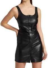 Nanushka Ernie Vegan Leather Dress
