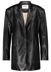 Nanushka Evan faux leather blazer