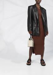 Nanushka Evan oversized faux leather blazer