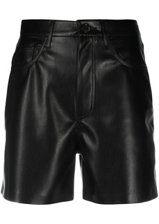 Nanushka faux-leather shorts