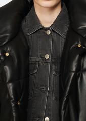 Nanushka Hide Vegan Leather Puffer Jacket - L - Also in: M, S, XS