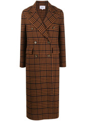 Nanushka Lana checked coat
