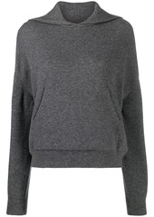 Nanushka Mog ribbed knit hoodie