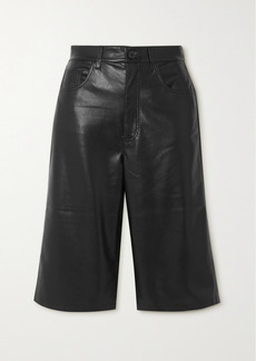 Nanushka Nampeyo Vegan Leather Shorts