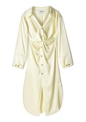 Nanushka Ayse Satin Shirt Dress