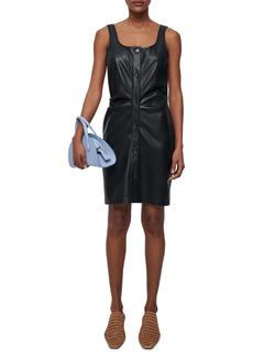 Nanushka Ernie Faux Leather Dress
