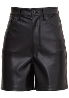 Nanushka Leana Shorts In Vegan Leather