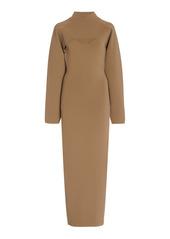 Nanushka Noa Bustier Midi Dress With Bolero