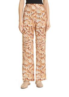 Nanushka Tabbie Snake Print Pants