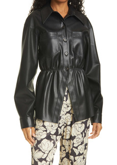 Nanushka Thalita Faux Leather Jacket