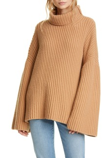 Nanushka Turtleneck Wool Blend Sweater
