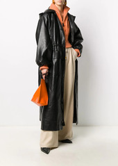 Nanushka Noki hooded drawstring coat