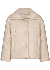 Nanushka press-stud padded jacket