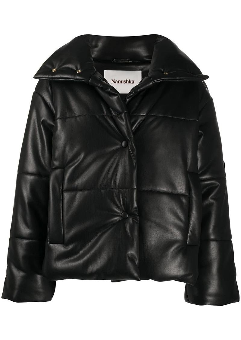 Nanushka quilted puffer jacket