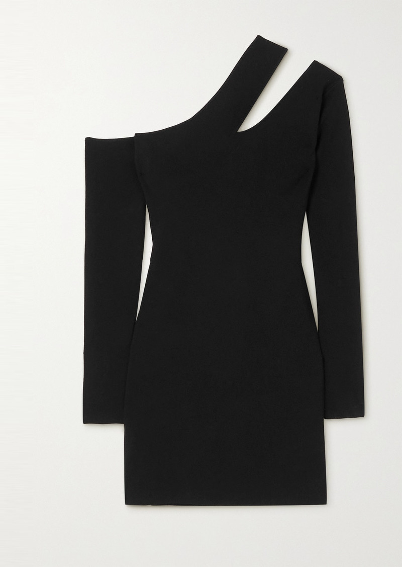 Nanushka Shani Cutout Stretch-knit Mini Dress