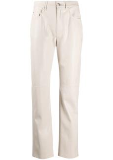 Nanushka straight-leg trousers