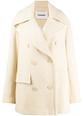 Nanushka Tommi double-breasted coat